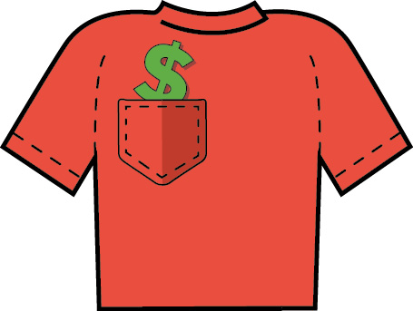 Money In Your Pocket Shirt