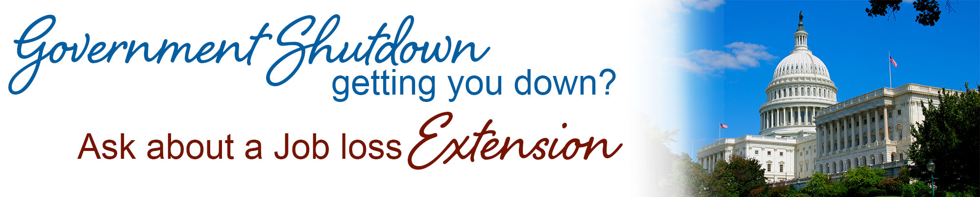 Government Shutdown Loan Extension
