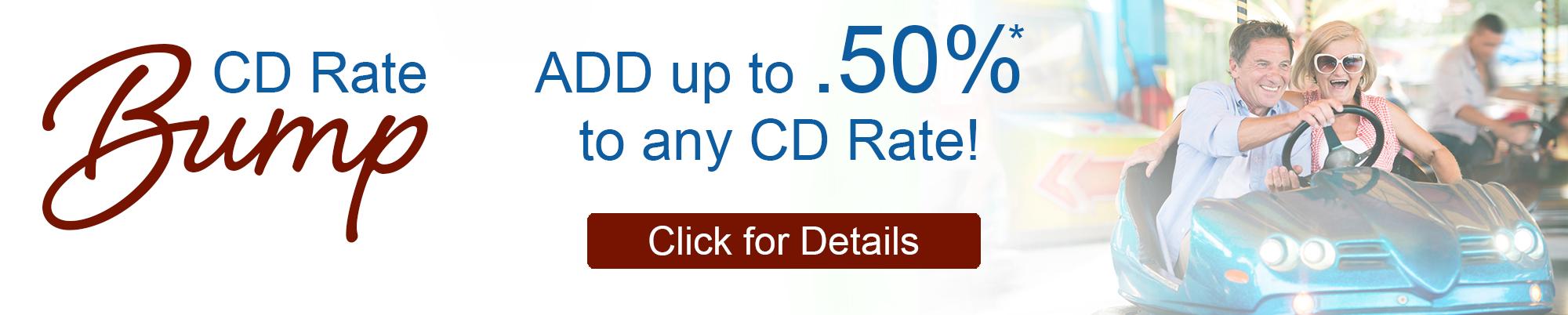 CD Rate Bump