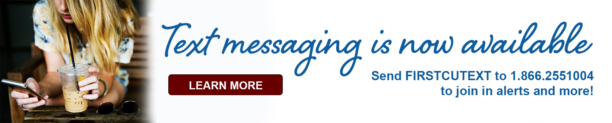 Texting now available